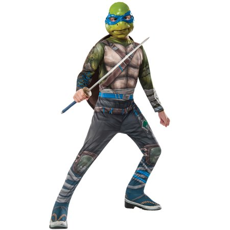 TMNT 2 Leonardo Child Costume - Army Ninja Suit