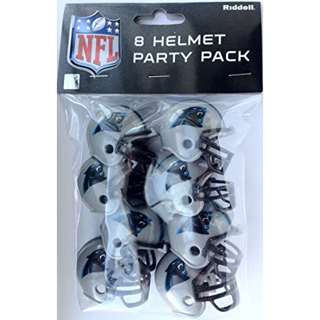Carolina Panthers Team Helmet Party Pack (Helmet Party)