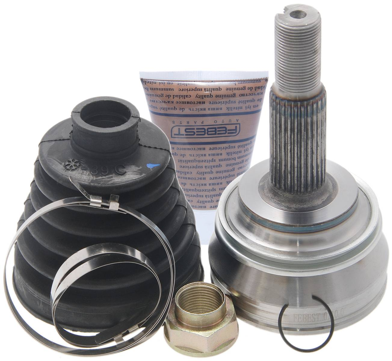 Febest 0110-055 OUTER CV JOINT 24X58X26, TOYOTA COROLLA CE120/NZE12#/ZZE12# 2000-2008,  OEM 43460-80004