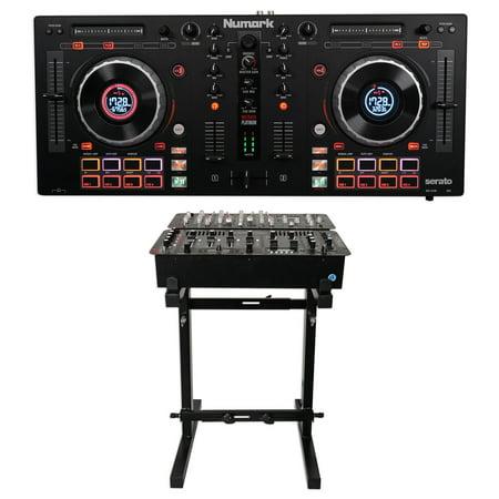 Numark Mixtrack Platinum 4-Ch Serato DJ Controller+Jog Wheel Display,