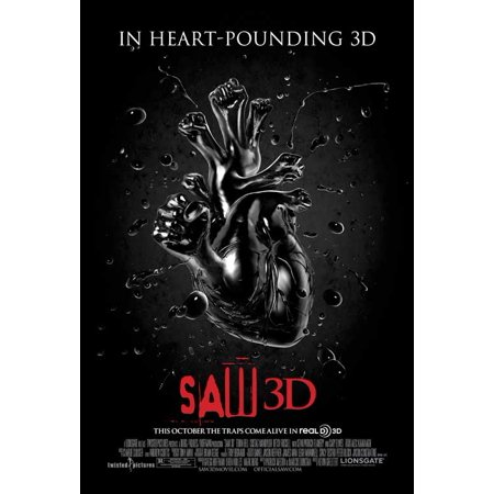 Saw 3D (2010) 11x17 Movie Poster for $<!---->