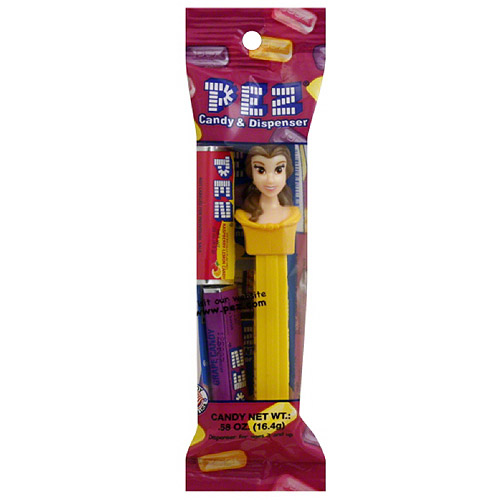 Pez Disney Princess Cinderella Candy & Dispenser, 0.58 oz, (Pack of 12)