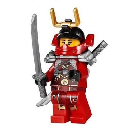 LEGO Ninjago Minifigure - Nya Samurai X Female Red Ninja (70728)