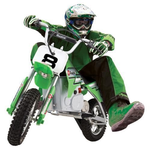 RAZOR MX400 24V Dirt Rocket Electric Motorcycle Bike - Green | 15128030