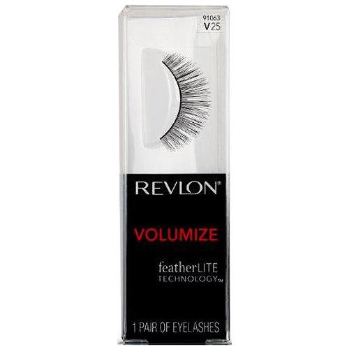 Revlon Volumize False Eyelashes, V25, 1 pr