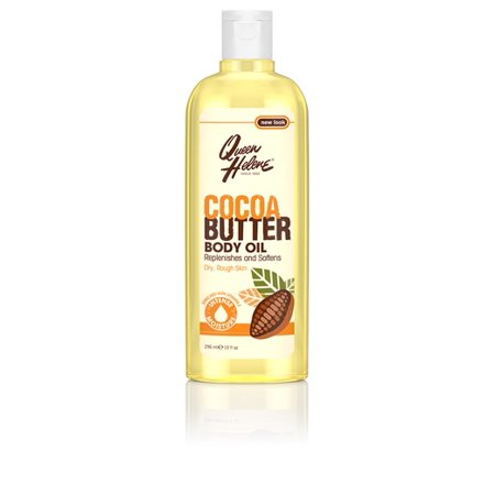 Queen Helene Cocoa Butter Body Oil, 10 fl (Cocoa Butter Moisturizing Body Oil)