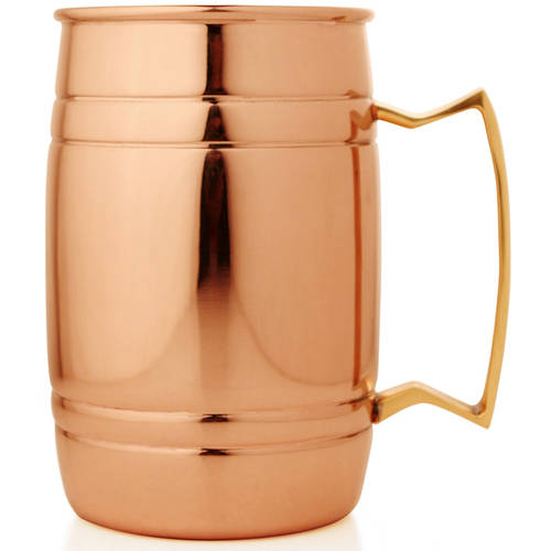 Magpie Double-Wall Copper Mug