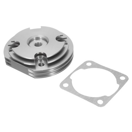 2 Stroke CNC Cylinder Head Cover + Gasket For 49/60/66/80cc Engine Motorized