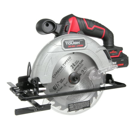 Circular Saw Combo Pack (Hyper Tough HT Charge 20V 6-1/2-Inch Circular Saw, AQ8001G )