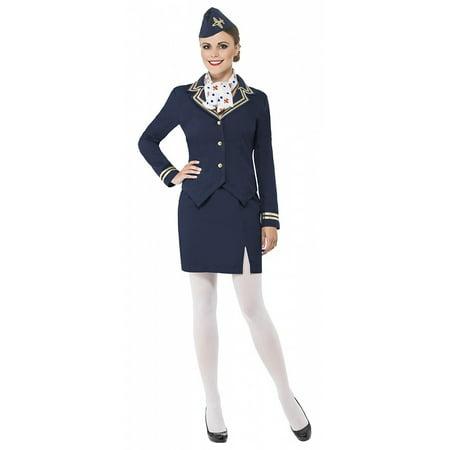 Us Airways Halloween (Airways Attendant Adult Costume -)