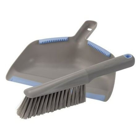 Clorox Brush & Dustpan Set, Platinum, 2 pc