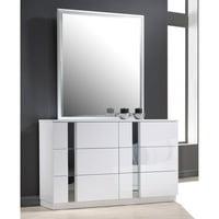 J&M Furniture Palermo 6 Drawer Dresser and Mirror