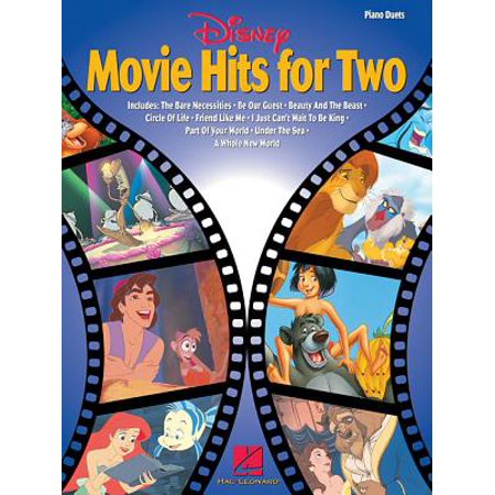 Disney Movie Hits for Two : Lower-Intermediate Level Piano Duets