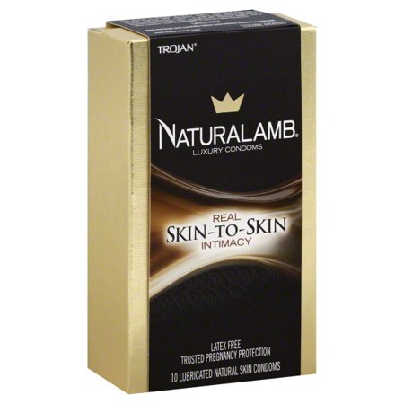 Trojan Naturalamb Luxury Condoms Skin-To-Skin - 10 CT ()