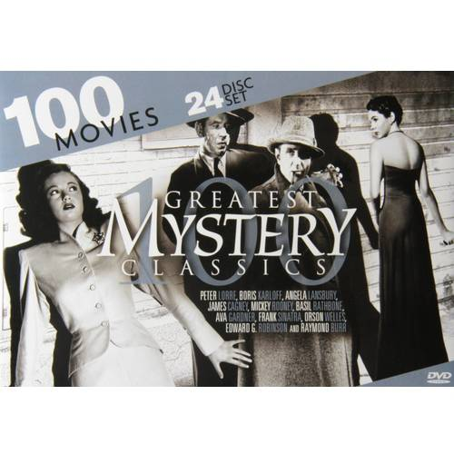 100 Greatest Mystery Classics by Mill Creek Entertainment