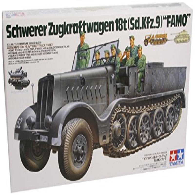 Tamiya German 18T Heavy Half Track