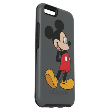 pretty nice 6104b 826cd OtterBox Symmetry Series Mickey's 90th Case for iPhone 6/6s, Mickey Classic