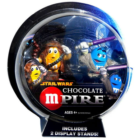 Star Wars Chocolate Mpire Chewbacca & Mace Windu Action Figure 2-Pack