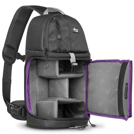 Altura Photo Camera Sling Backpack Bag for DSLR and Mirrorless Cameras (Canon Nikon Sony