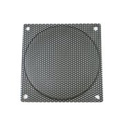 120mm Black Steel Computer Case Fan Mesh Grill / Guard / Filter - Medium Hole