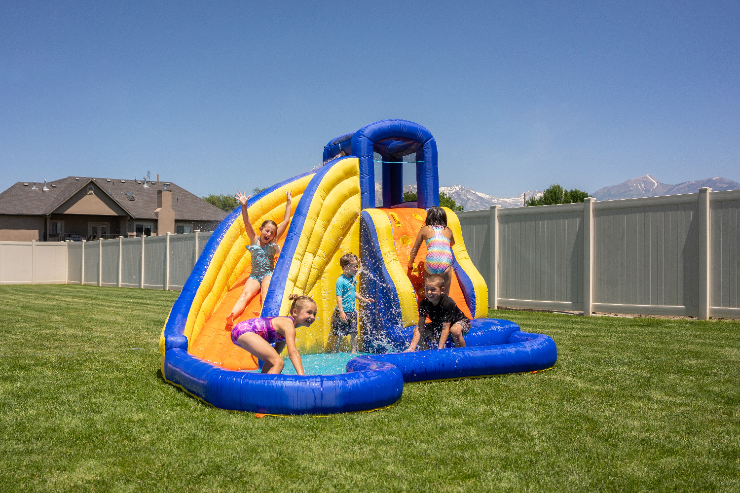 Sportspower Big Wave II Inflatable Water Slide
