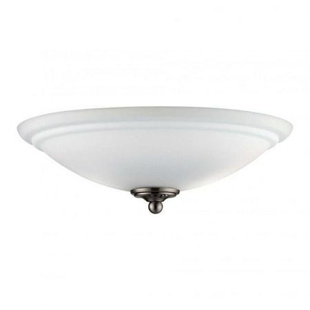 Brushed Pewter Fan Light (Pemberly Row Salon Fan in Brushed Pewter)