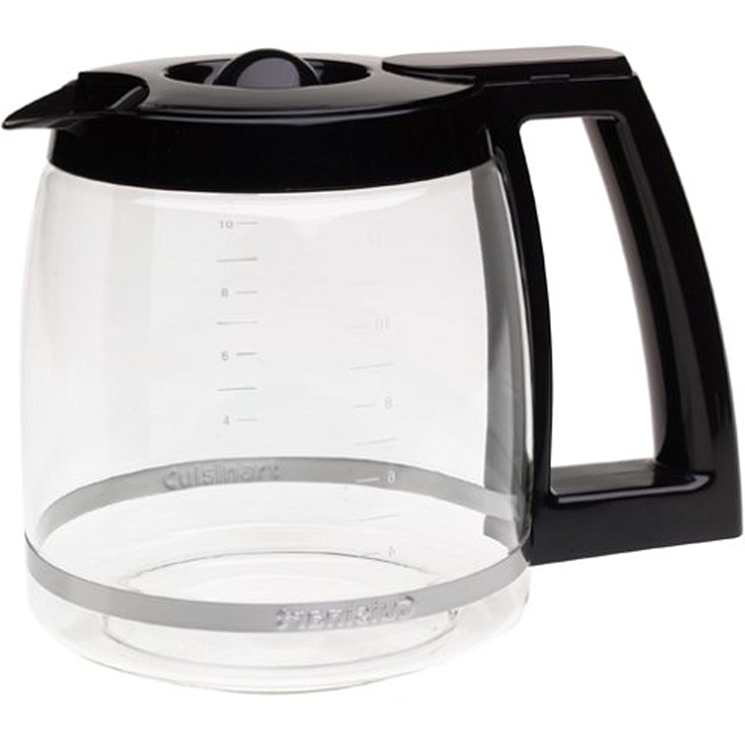 Replacement Glass Black Onyx For KitchenAid 12-Cup Carafe KCM11GC