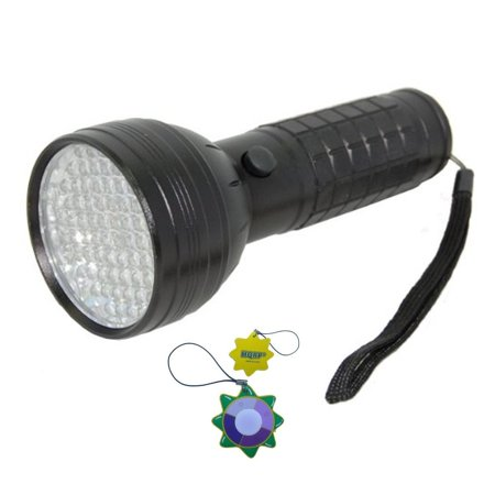 - HQRP 76 LEDs UV Flashlight Blacklight 390 nm for Checking Leaks in Cooling Systems (with dyes) + HQRP UV Meter