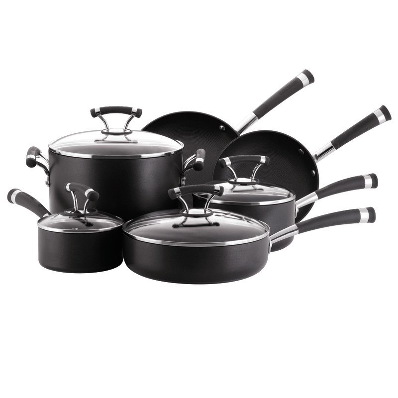 Circulon Contempo Hard Anodized 10-Piece Cookware Set
