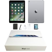 Open Box | Apple iPad Mini 3 | 64GB Space Gray | Wi-Fi Only | Bundle: Tempered Glass, Case, Charger & Stylus Pen comes in Original Packaging