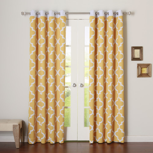 Best Home Fashion, Inc. Blackout Curtain Panels (Set of 2)