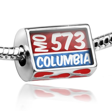 Bead 573 Columbia, MO red/blue Charm Fits All European - Party City In Columbia Mo
