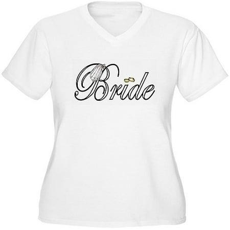 ae121c921 Cafepress - Women's Plus-Size Bride Graphic T-shirt - Walmart.com