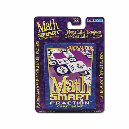 Math Smart Card Game, Subtraction