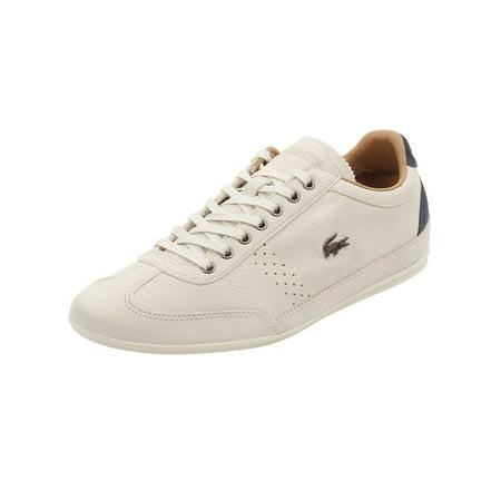 9ef92931c Lacoste - Lacoste Mens Misano 34 Sneakers in Off White - Walmart.com