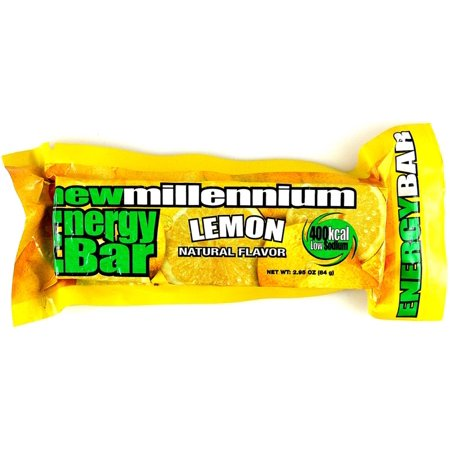 Millennium Energy Survival Bar Lemon - 5-year shelf life (Canned Shelf Life)