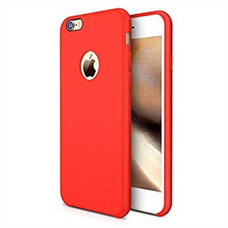 quality design 9d72e 61cc6 Refurbished iPhone 6s Case, TORRAS [Love Series] Liquid Silicone Rubber  iPhone 6 6S Shockproof Case with Soft Microfiber Cloth Cushion (4.7