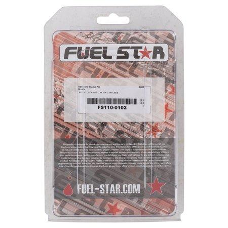New Fuel Star Hose and Clamp Kit for Honda CRF 70 F (04-07) XR 70 R (97-03) FS110-0102 (Honda Crf 70 Carburetor)