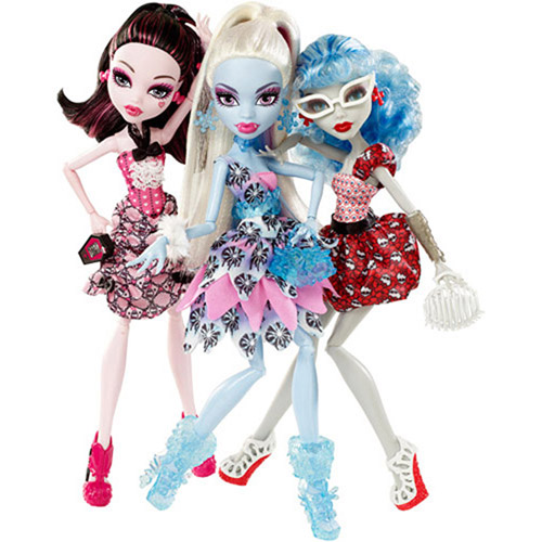 Monster High Dot-Dead Gorgeous Dolls, Set of 3