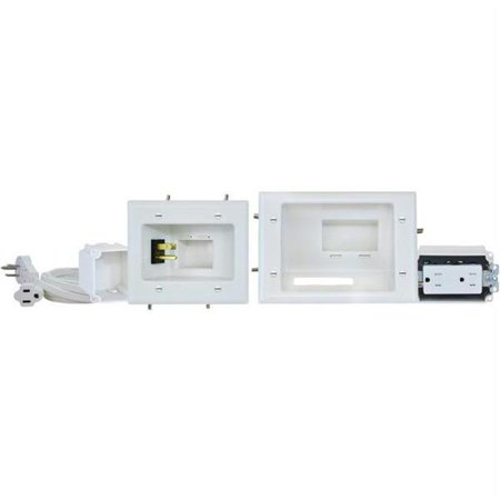 - Recessed Pro-power Kit With Straight Blade Inlet