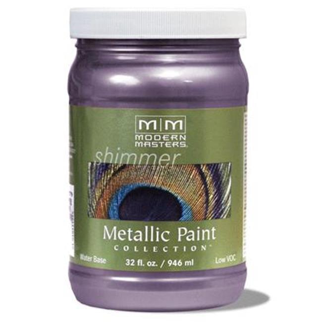 MODERN MASTERS ME427 1 qt. Lilac Metallic Paint - Opaque - image 1 de 1