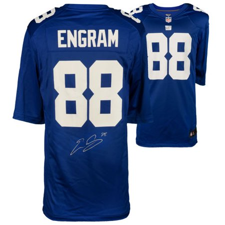 Evan Engram New York Giants Autographed Nike Blue Game Jersey