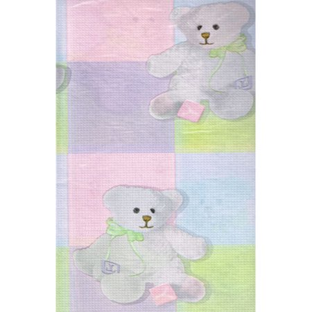 Baby Shower 'Plush Bear' Paper Table Cover (1ct)