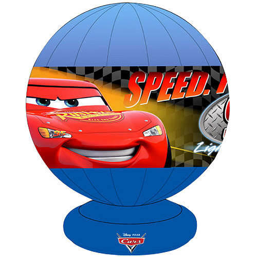 Disney Cars Motion Lamp, Red