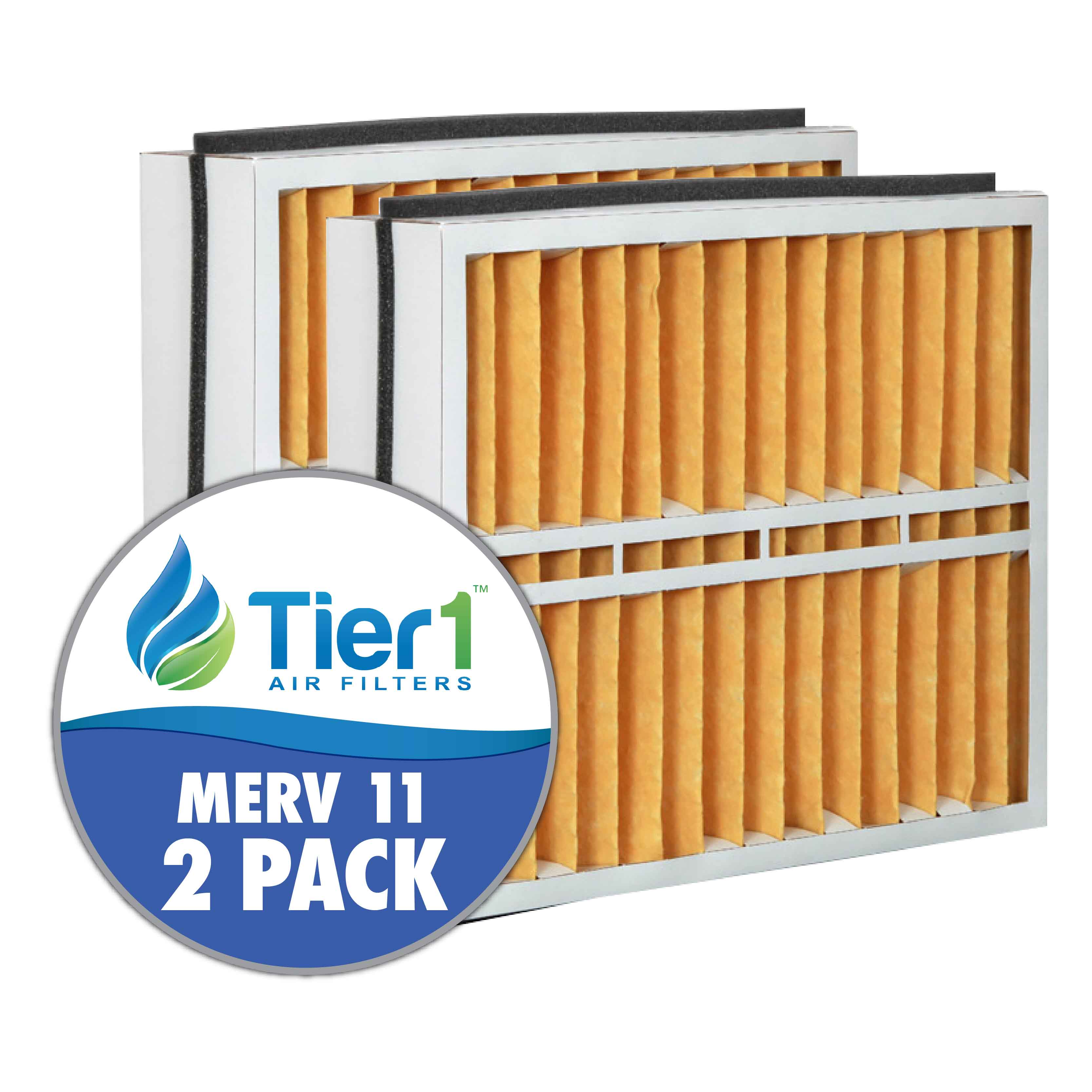 Trane 17.5x27x5 Merv 11 Replacement AC Furnace Air Filter (2 Pack)
