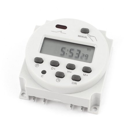 CN101A LCD Digital Programmable Control Power Timer Switch Time Relay /DC 12V