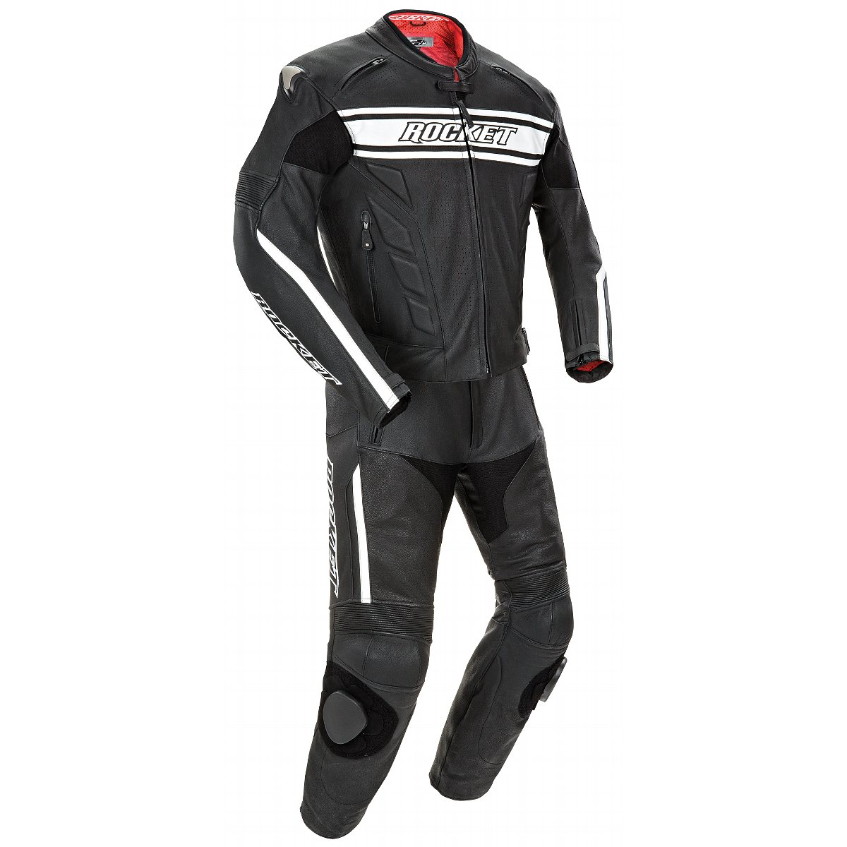 Joe Rocket Blaster X Black/White Two Piece Race Suit