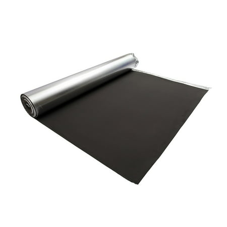 Underlayment Roll - Dekorman 3mm Thickness Silver EVA Foam Underlayment, 200 sqf cover area per roll