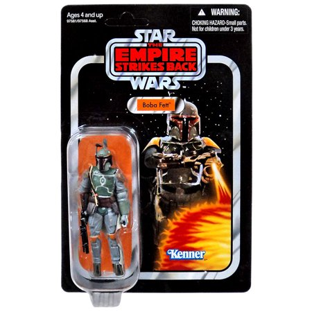 Boba Fett Action Figure Empire Strikes Back Packaging Star Wars - Boba Fett Jetpack Backpack