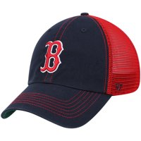 Boston Red Sox '47 Trawler Clean Up Trucker Hat - Navy/Red - OSFA